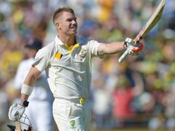 पर्थ टेस्ट : वार्नर का शतक, ऑस्ट्रेलिया को 369 रनों की बढ़त