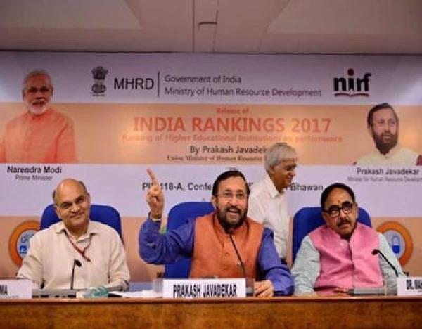 NIRF की रैंकिंग में देश के टॉप 10 में डीयू के 6 कॉलेज हुए शामिल