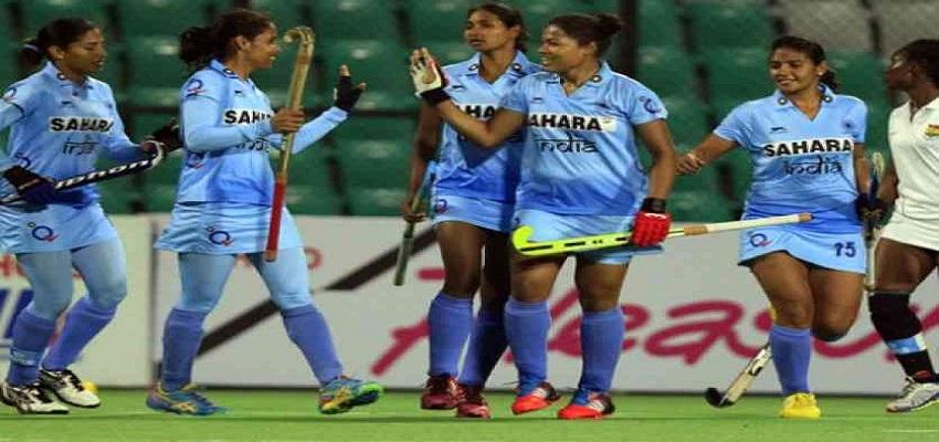 भारतीय महिला हॉकी टीम ने एशिया कप में भारत ने चीन को दी मात।
