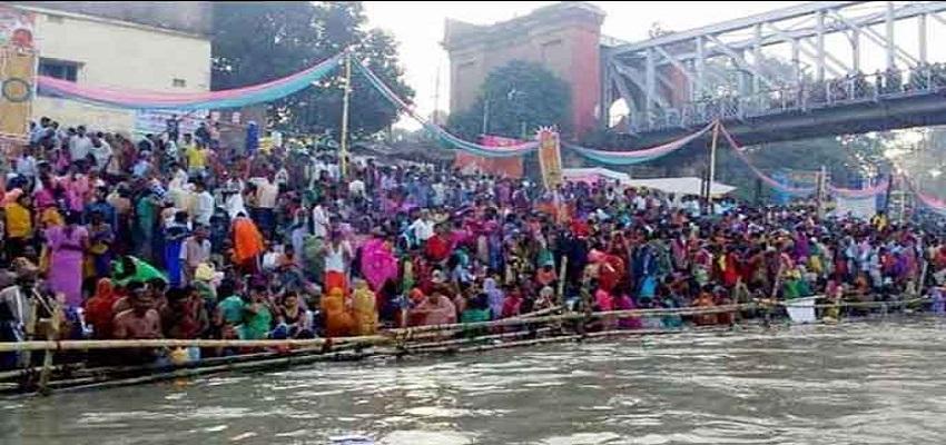 बिहार के बेगूसराय में कार्तिक पूर्णिमा मेले में स्नान के दौरान भगदड़,  3 लोगों की मौत।