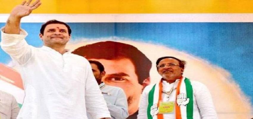 गुजरात का चुनावी दंगल , राहुल गांधी ने पोरबंदर में की रैली।