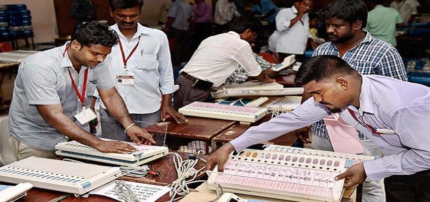 गोरखपुर में पड़े वोटों की कल होगी गिनती, प्रशासन ने इसकी तैयारियां  की पूरी।