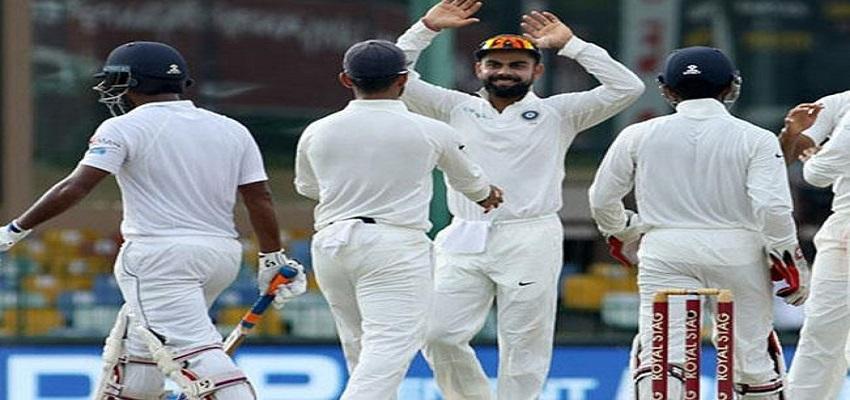 श्रीलंका के खिलाफ कोटला टेस्ट,पहले दिन हावी रहे भारतीय बल्लेबाज।