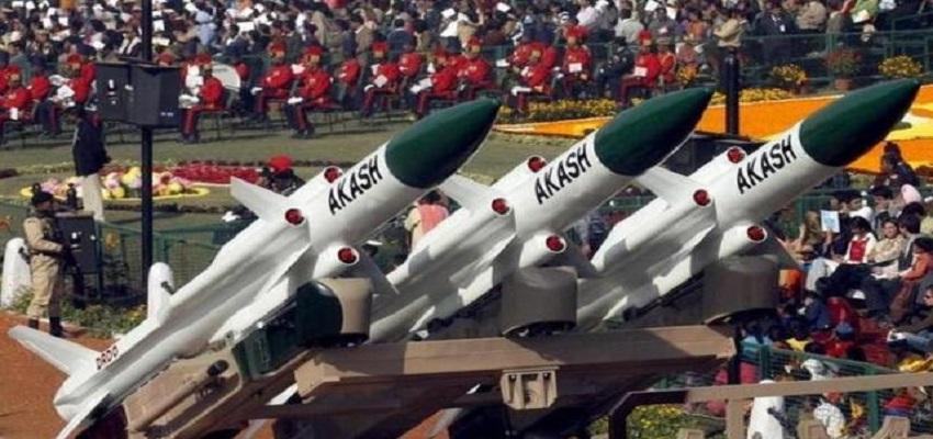 मजबूत हुई भारत की जमीन,सुपरसोनिक मिसाइल आकाश का सफल परीक्षण।