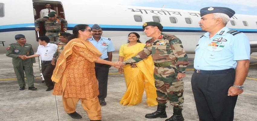 सुखोई-30 लड़ाकू विमान में निर्मला सीतारमण ने भरी उड़ान, ऐसा करने वाली पहली रक्षामंत्री बनीं।