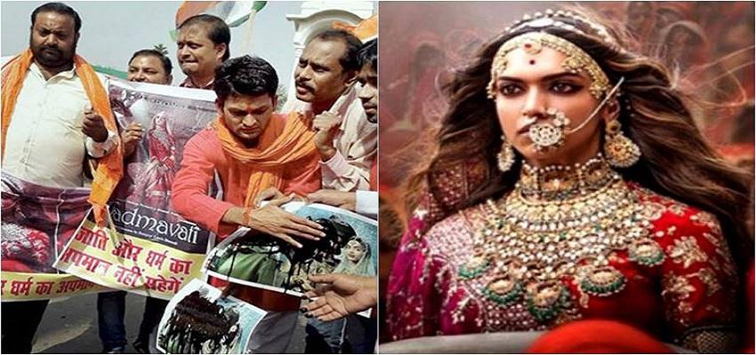 फिल्म पद्मावत के विरोध में करणी सेना दाखिल करेगी SC में याचिका।