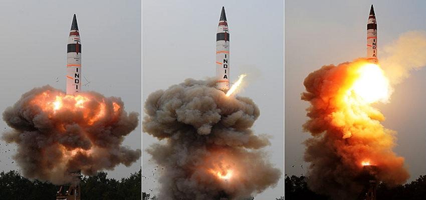 अब कांपेगे चीन और पाकिस्तान, 5000 KM तक झुलसाएगी अग्नि-5