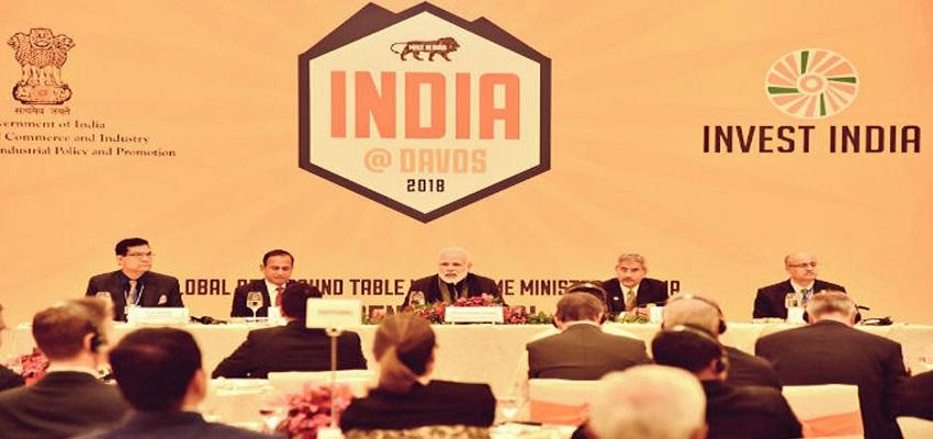 ग्लोबल CEO के साथ पीएम मोदी ने की राउंड टेबल मीटिंग।