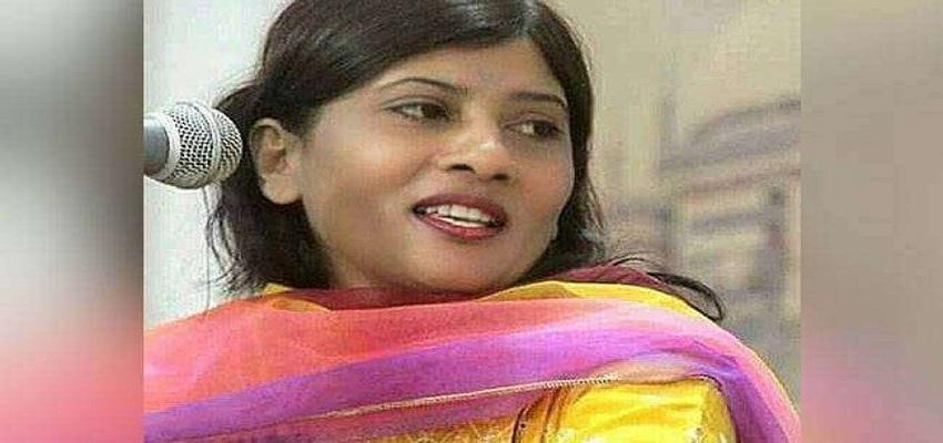 पाकिस्तान सीनेट में चुनी गई पहली हिंदू महिला।