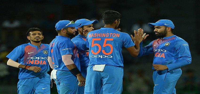 बांग्लादेश को हराकर फाइनल में भारत।