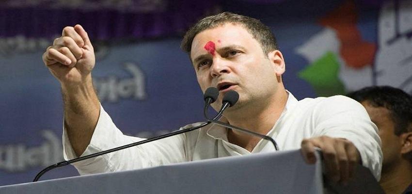 राहुल गाँधी का राजघाट पर उपवास।
