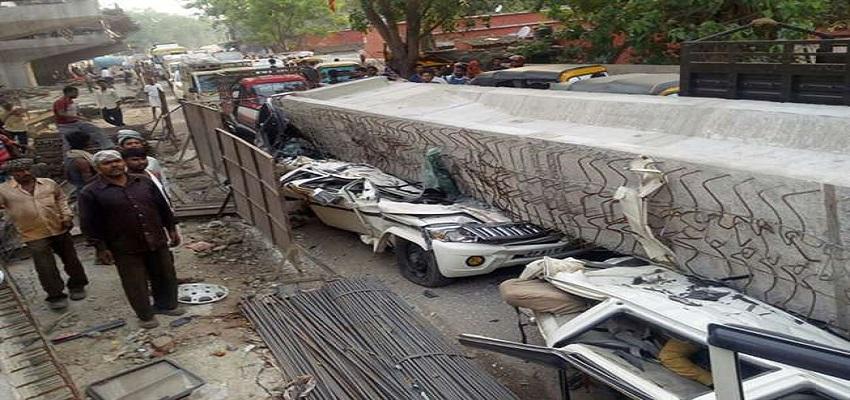 वाराणसी पुल हादसे में 15 लोगों की मौत।