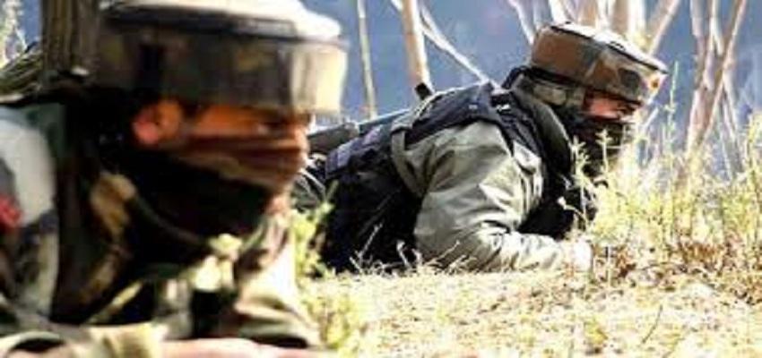 पुलवामा के त्राल में सेना ने तीन आतंकी किये ढेर।