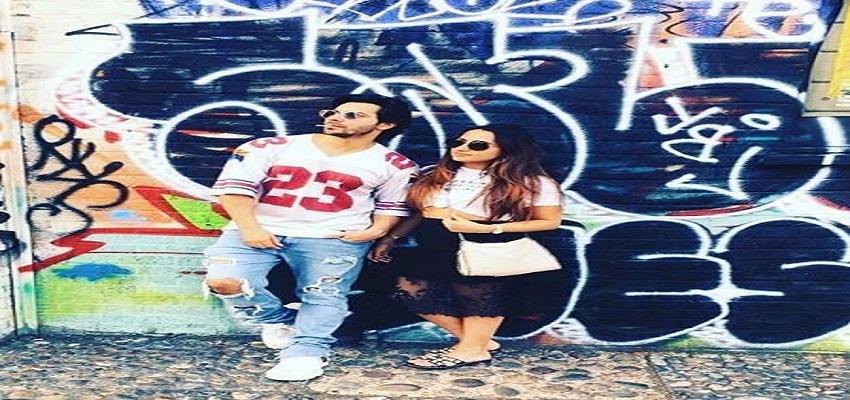 गर्लफ्रेंड नताशा दलाल के साथ वरुण धवन ने शेयर की पहली तस्वीर।