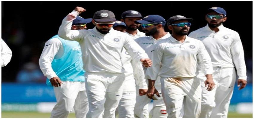 भारत ने इंग्लैंड को दिया 521 रनों का लक्ष्य।