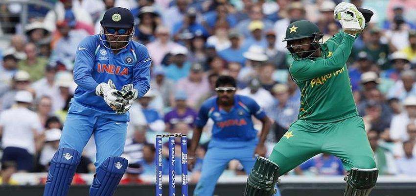 एशिया कप में भारत-पाकिस्तान का मुकाबला।