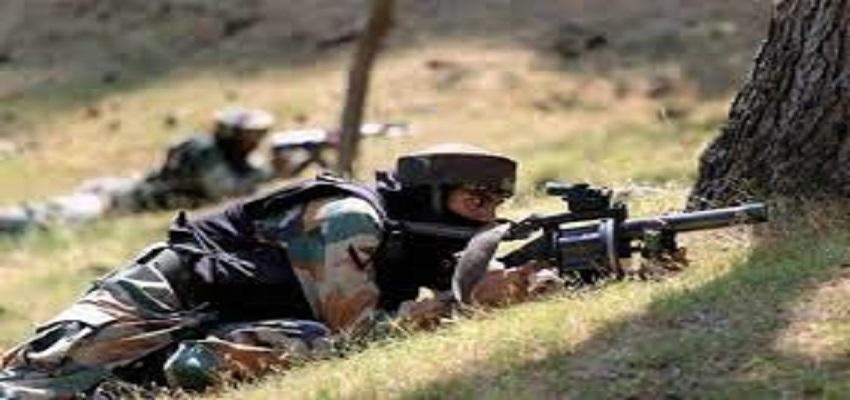 पाकिस्तान ने BSF के जवानों पर किया हमला।