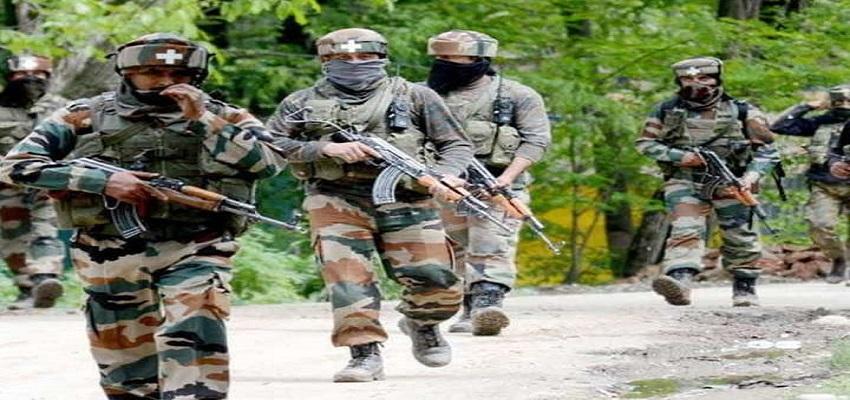 सुरक्षाबलों ने पांच आतंकियों को किया ढेर-जम्मू कश्मीर