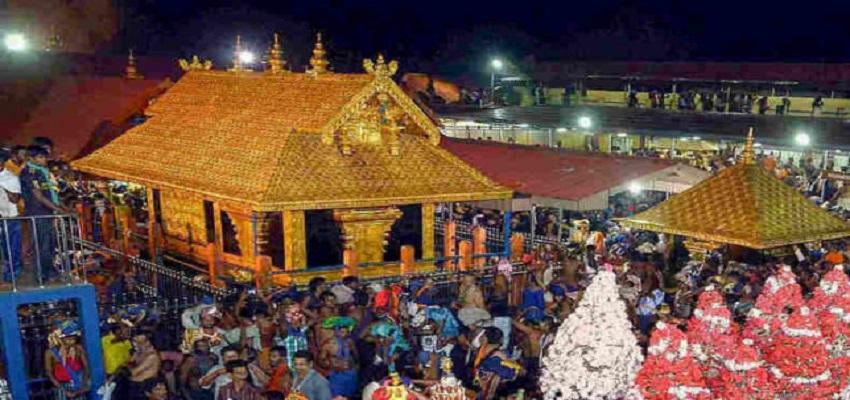 सबरीमाला मंदिर के आज खुलेंगे कपाट।