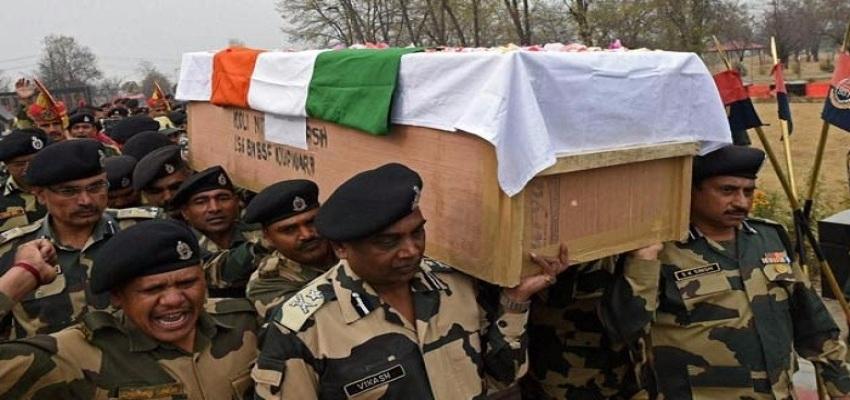 जाबांज जवान रंजीत सिंह का हुआ अंतिम संस्कार।
