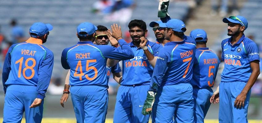 पांच मैचों की सीरीज में 2-1 से आगे भारत।