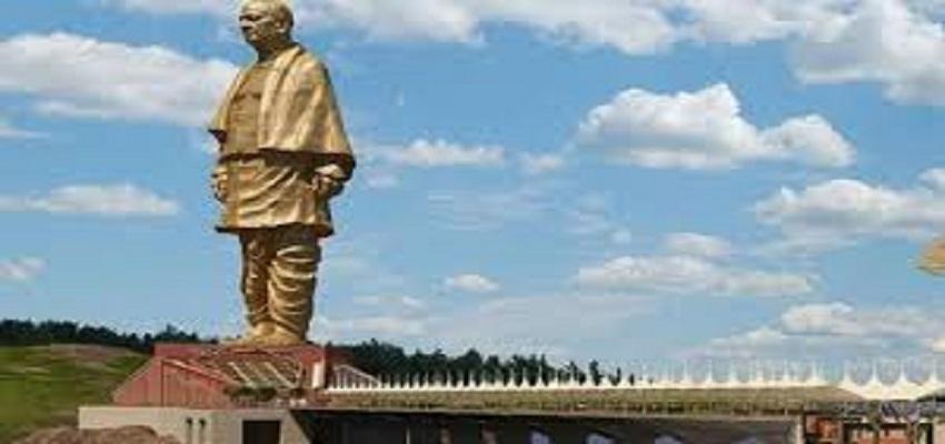 दुनिया की सबसे ऊंची मूर्ति बनी 'स्टैच्यू ऑफ यूनिटी'