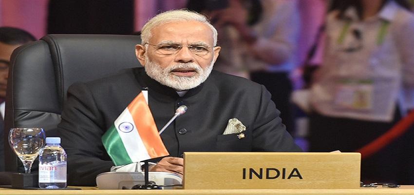पीएम मोदी ने फिनटेक समिट में लिया हिस्सा।