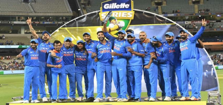 भारत ने न्यूजीलैंड को सात विकेट से हराया, 10 साल बाद जीता सीरीज ।