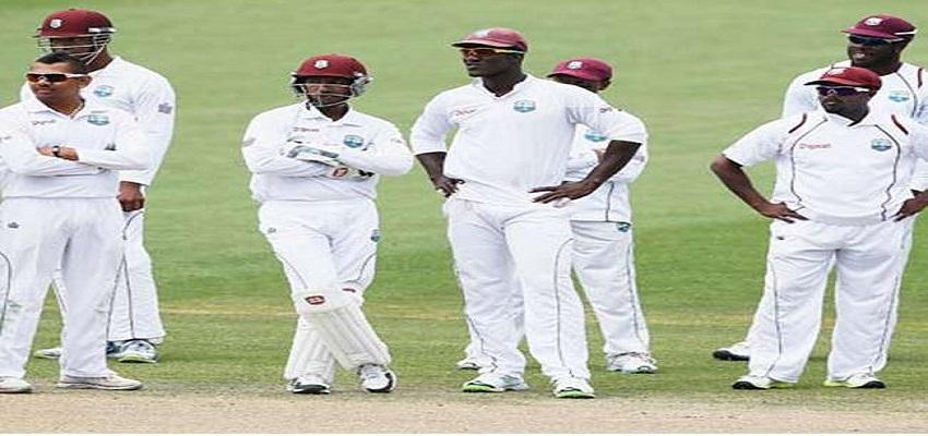 भारत के खिलाफ वेस्ट-इंडीज की घोषणा।