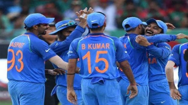 पहला वनडे रद्द होने के बाद आज जीत के इरादे से उतरेगा भारत।