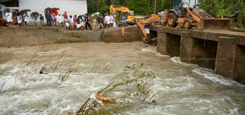 बाढ़ से मचा कोहराम।