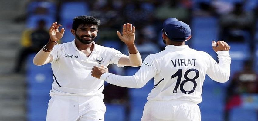 वेस्ट इंडीज के खिलाफ मजबूत स्थिति में भारत