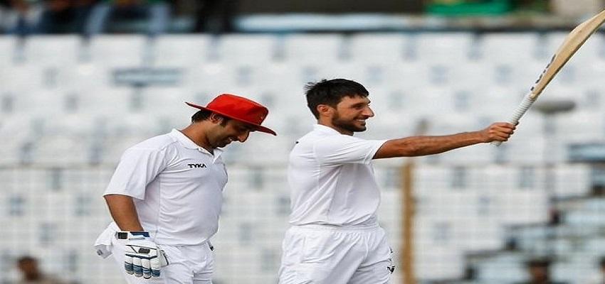 अफगानिस्तान के बल्लेबाज़ रहमत शाह का ऐतिहासिक शतक