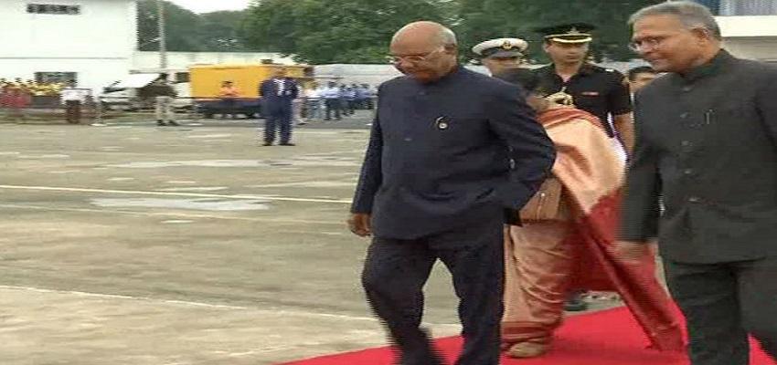 तीन देशों की यात्रा पर रवाना हुए राष्ट्रपति कोविंद