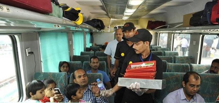रेलवे जल्द ही ला रहा है नई कैटरिंग पॉलिसी