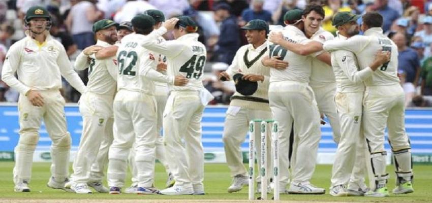 एशेज में इंग्लैंड ने ऑस्ट्रेलिया को दी मात