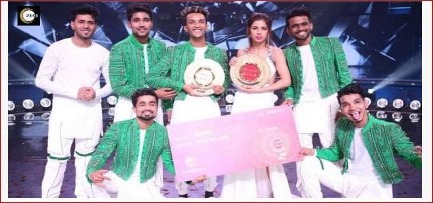 'डांस इंडिया डांस 7' के फिनाले में, अनरियल क्रू ने जीता खिताब