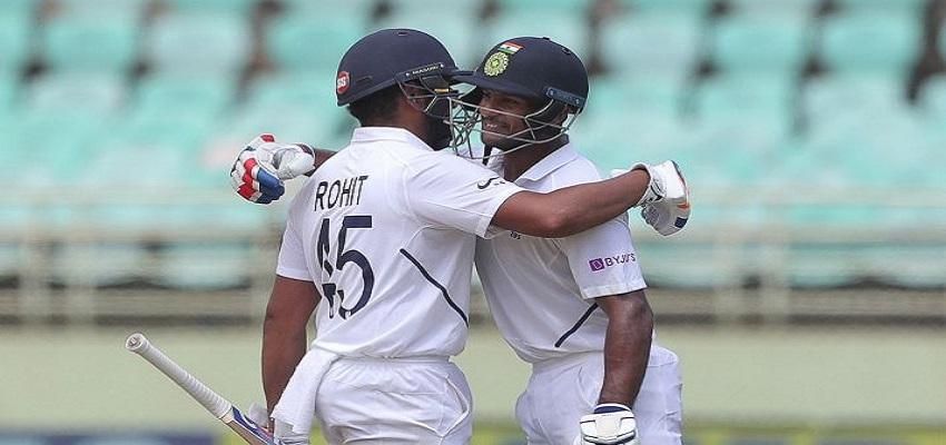 टीम इंडिया ने  दक्षिण अफ्रीका  पर कसा शिकंजा