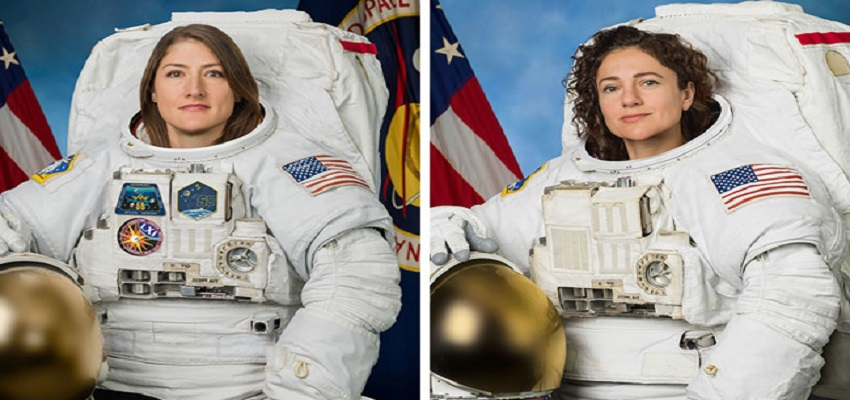 अंतरिक्ष में महिलाओं ने रचा इतिहास