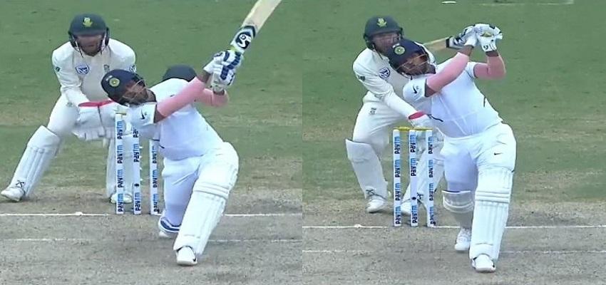 भारत की पहली पारी 497 रन पर घोषित, उमेश के छक्कों ने जीता दिल