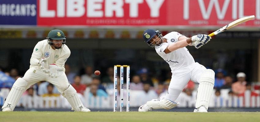 IND vs SA- उमेश ने बल्लेबाजी में किया धमाल