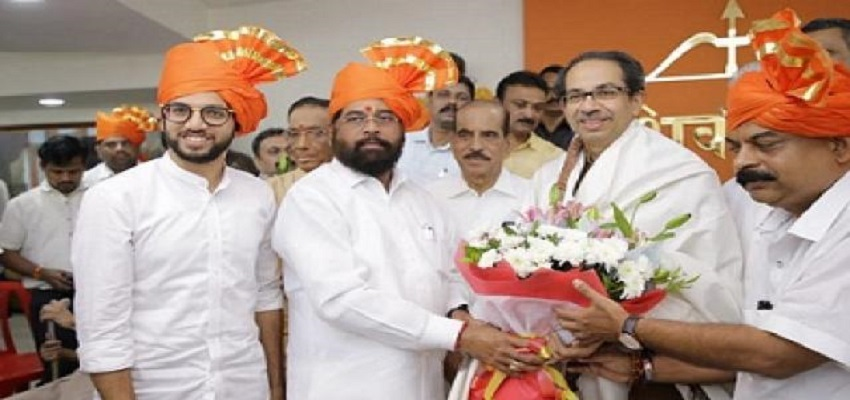 एकनाथ शिंदे बने शिवेसना विधायक दल के नेता