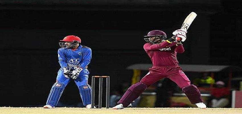 WIvsAFG- वेस्टइंडीज ने बनाई जीत की हैट्रिक