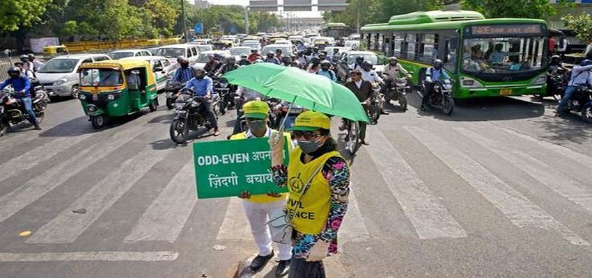 ऑड-ईवन के खिलाफ याचिका पर दिल्ली सरकार को नोटिस जारी