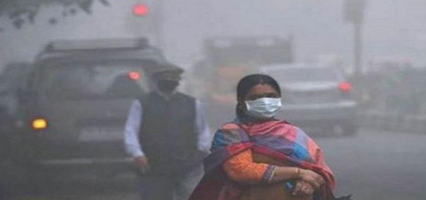 दिल्ली-NCR में प्रदूषण का स्तर फिर बढ़ा