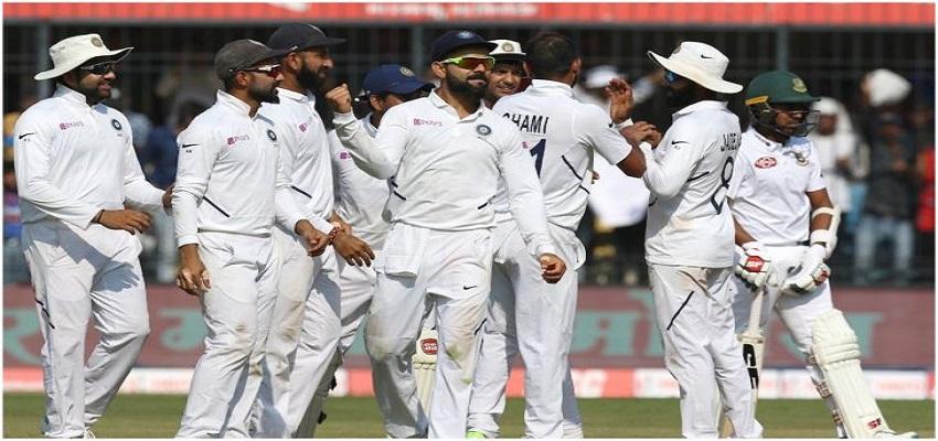 भारत ने बांग्लादेश को रौंदा