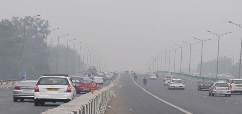 दिल्ली में हवा की गुणवत्ता में थोड़ा सुधार