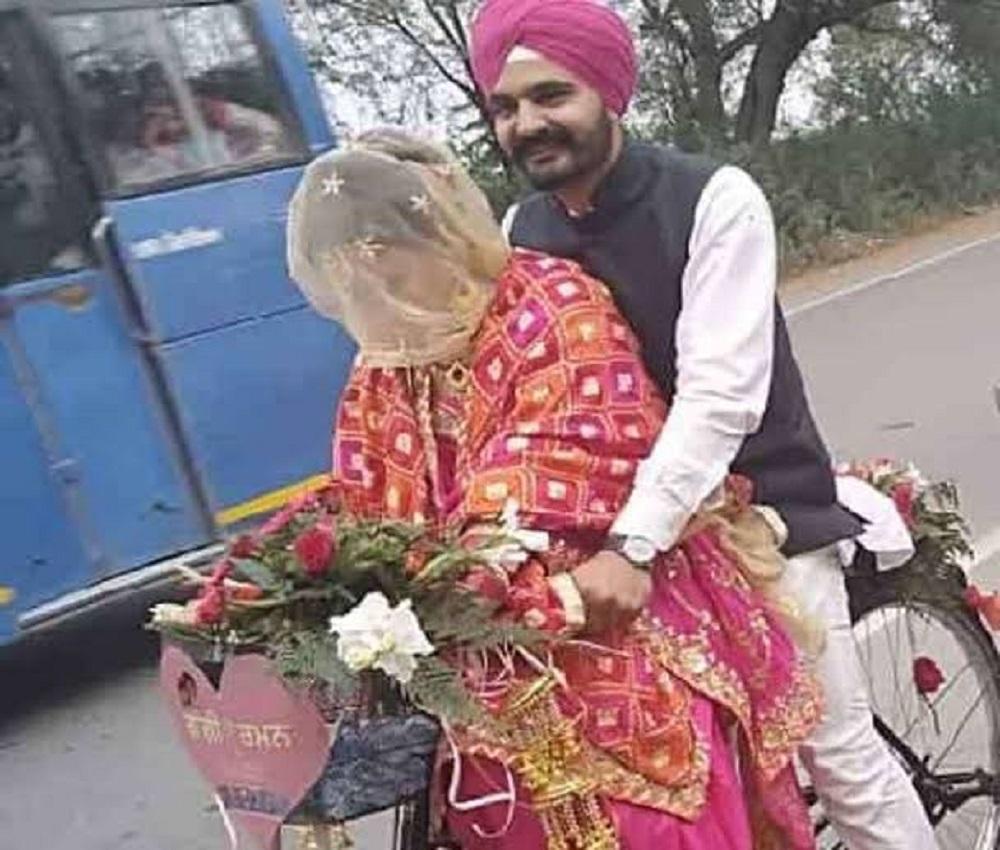 Video- बठिंडा में अनोखी शादी