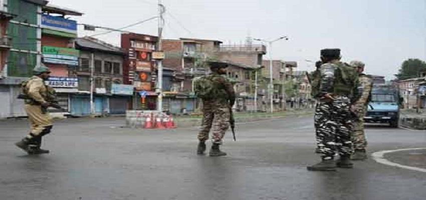 जम्मू और कश्मीर से सुरक्षा घटाने का फैसला