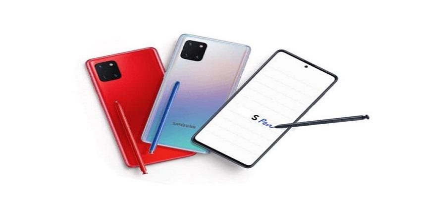 सैमसंग Galaxy Note 10 Lite लॉन्च